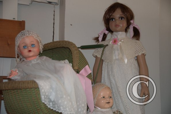 Vintage Dolls and Children's Clothes